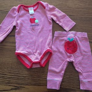 EUC 3-6m Gymboree Set